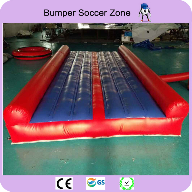 Free shipping!5*2.7m inflatable air mat for gym,inflatable air track tumbing for sale