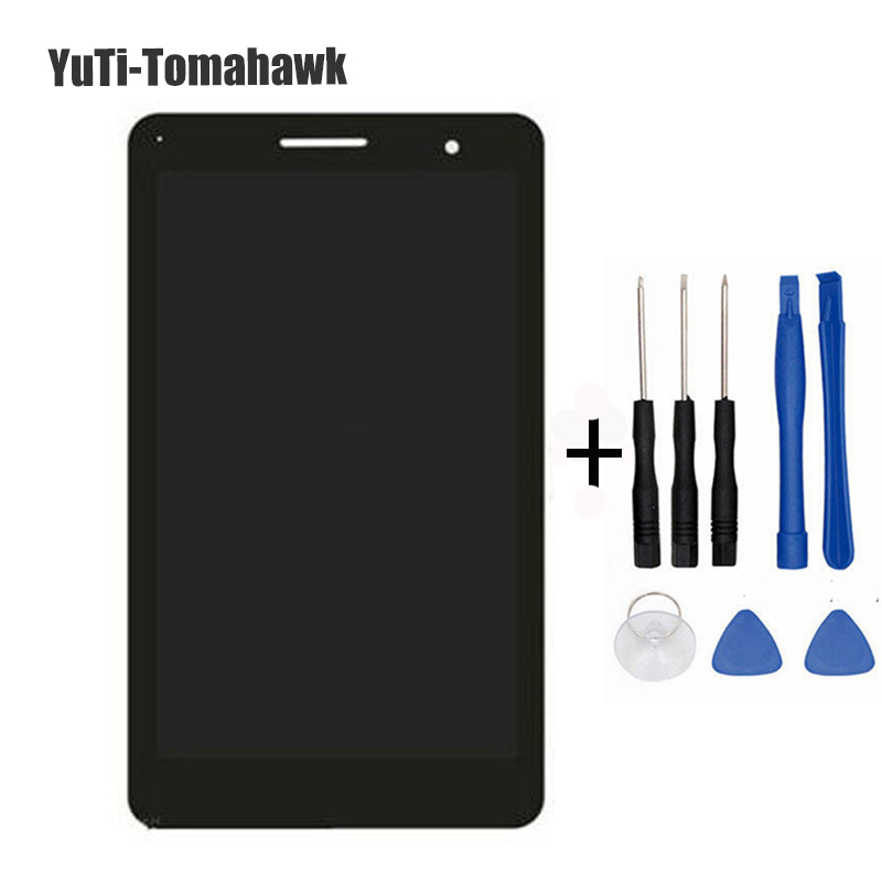 For Huawei MediaPad T2 7.0 LTE BGO-DL09 LCD Display and with Touch Screen Digitizer Assembly new 7 for huawei mediapad t2 7 0 lte bgo dl09 lcd display matrix with touch screen panel digitizer full assembly parts