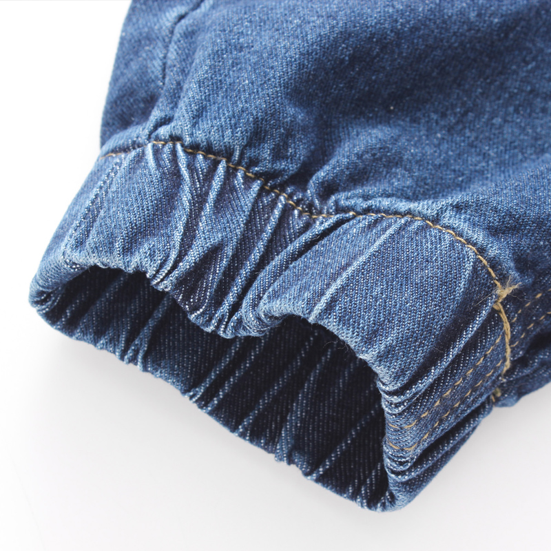 Brand 2019 New Men S Cotton Stretch Jeans Pants Slim Fit Denim 5e76bf4855cd