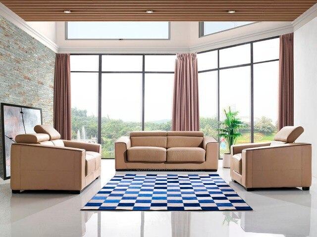 Lederen slaapbank woonkamer meubelen couch/echte woonkamer ...