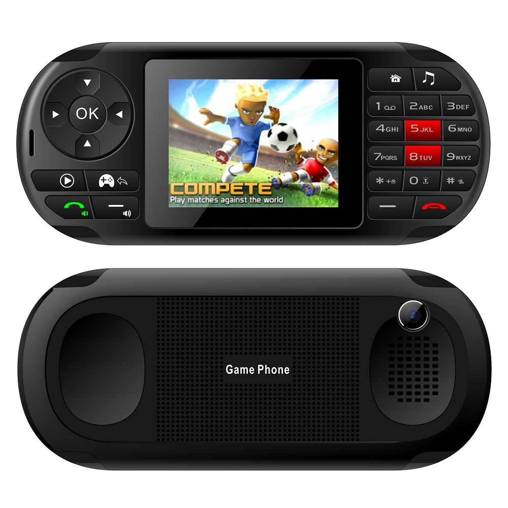 New Special Ideal Portable Handheld Game Player With Keyboard Mobile Phone Camera 2.8