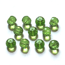 Shangquan AAA 8x10mm Column Glass Beads 100pcs/bag For DIY Necklace Bracelet Jewelry Making Free Shipping