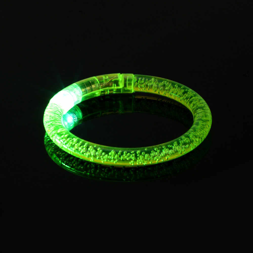 Lumiere enfant Light Flash Toys Crystal Acrylic Flash Bracelet Party Luminous flashing toys grabbelton speeltjes oyuncak