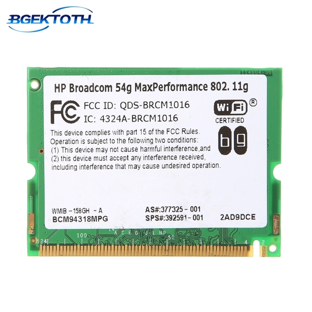 BROADCOM 54G DRIVER DOWNLOAD FREE