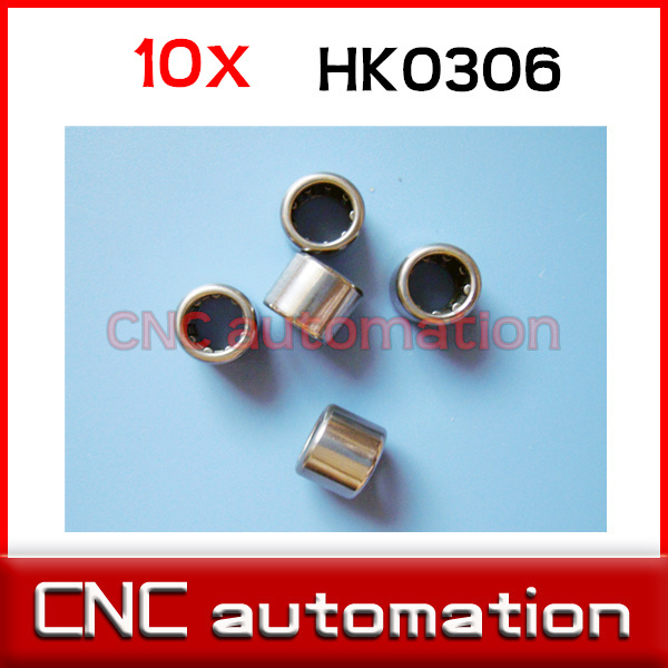 5 PCS 8mm x 14mm x 10mm HK081410 Needle Roller Bearing 8x14x10 mm