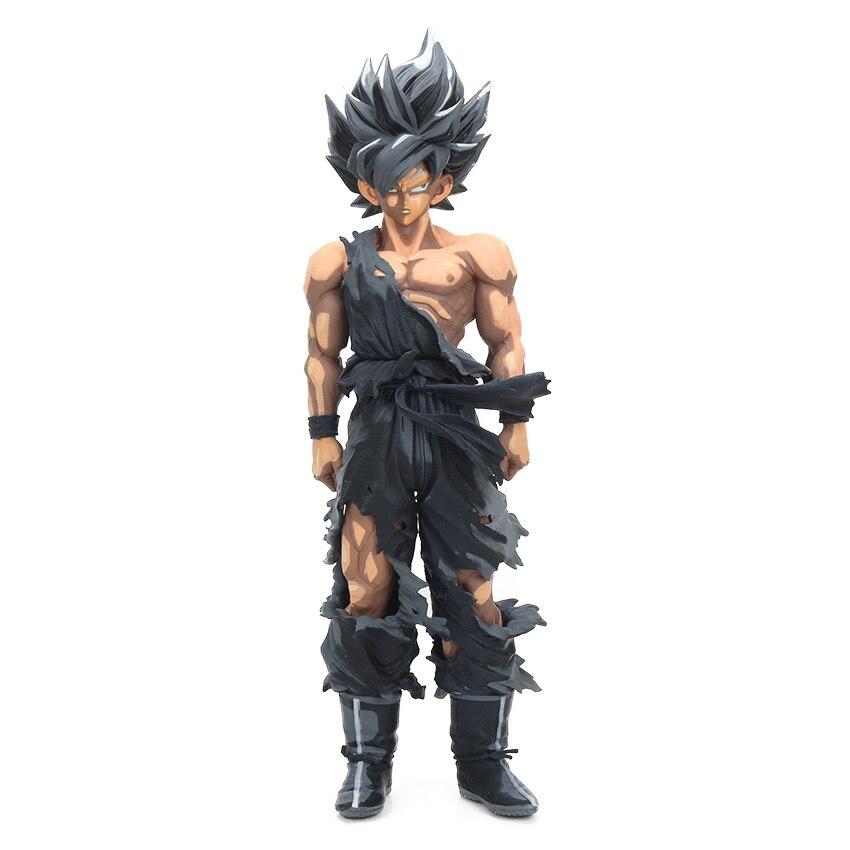Manga Dragon Ball Z Vegeta Goku Gohan Broly Trunks Action Figures 34cm 30