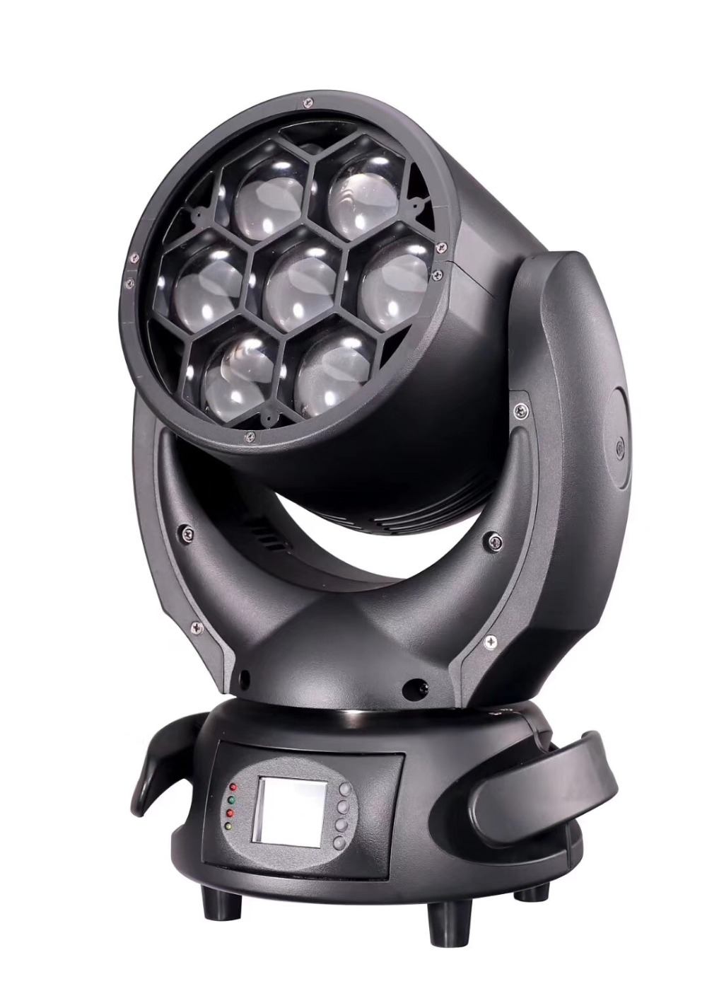 NEW 7*40W 4in1 RGBW ZOOM LED Moving Head Wash Light DJ Stage Lighting Disco LED Light Equipments For Party Club 7R BEAM
