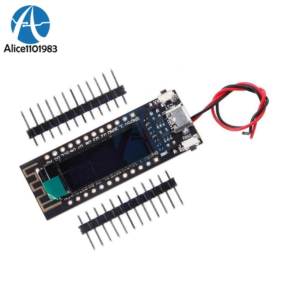 ESP8266 0.91 pollice OLED CP2014 Senza Fili WIFI di Bordo del Modulo per Arduino NodeMcu IOT Modulo di Sviluppo di 32 m 32 mb Flash PCBESP8266 0.91 pollice OLED CP2014 Senza Fili WIFI di Bordo del Modulo per Arduino NodeMcu IOT Modulo di Sviluppo di 32 m 32 mb Flash PCB