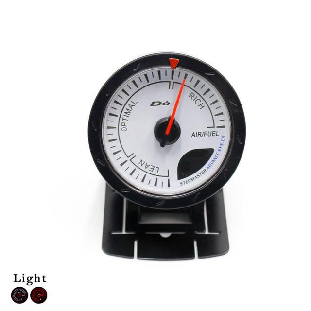 60MM White Face D*FI Air fuel ratio gauge with peak function/Air fuel Meter / Air fuel Sensor/Car Meter/Auto Gauge/Tachometer