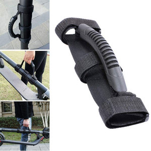Hand Carrying Belt Webbing Hook Portable Handle Straps for Xiaomi Mijia M365 PRO Ninebot ES1 ES2 electric scooter Skateboard(China)