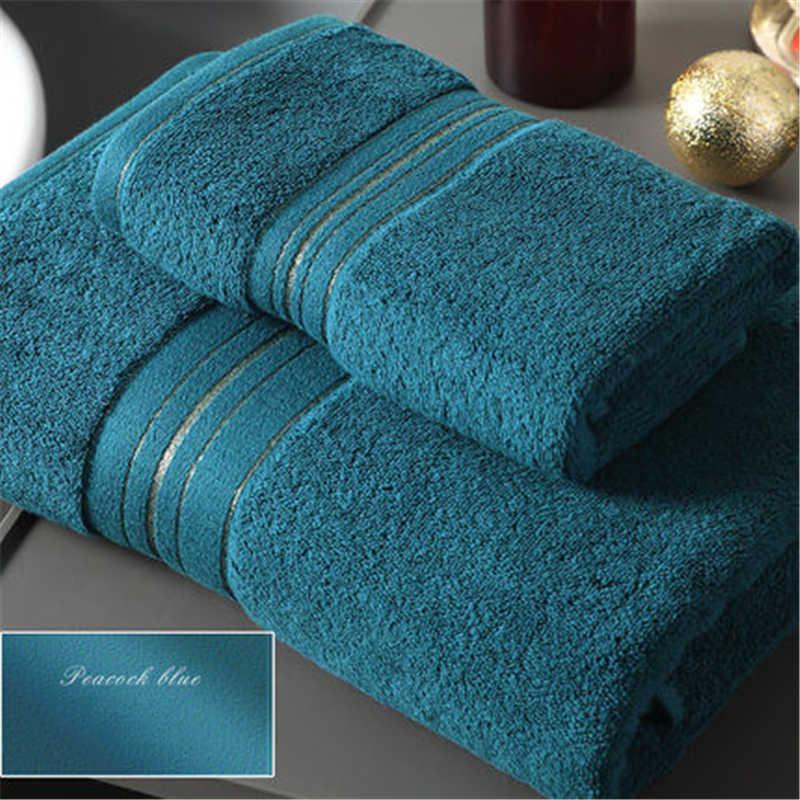 2018. Cinq étoiles hôtel pur coton brodé serviette de bain adulte homme et femme en plein air jacquard serviette de bain.