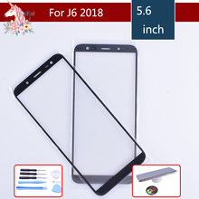 10pcs For Samsung Galaxy J6 2018 J600 J600F SM-J600F/DS SM-J600G/DS Touch Screen Front Outer Glass TouchScreen Lens j6 LCD Front смартфон samsung galaxy j6 2018 sm j600 32gb black