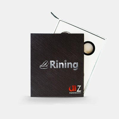 RINING by WENZI Magic - Tricks,Mentalism Magic,Close Up,Street Magic,Fun,Party Trick,Illusion,Gimmick,Magia Toys risk staple gun trick stage magic close up illusions accessory gimmick mentalism