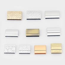 3sets Matte Silver/Gold Polished Bronze Large Hole Magnetic Clasp For Flat Leather Cord Strap Jewelry Findings Accessories