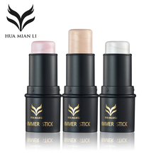HUAMIANLI Contour Face Makeup Shimmer Highlighter Foundation Stick Pen Naked Creamy Concealer Cosmetics