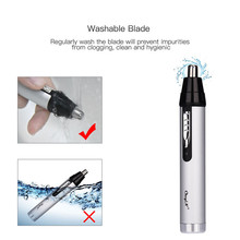 CkeyiN 3 in1 Electric Ear Nose Eyebrow Trimmer