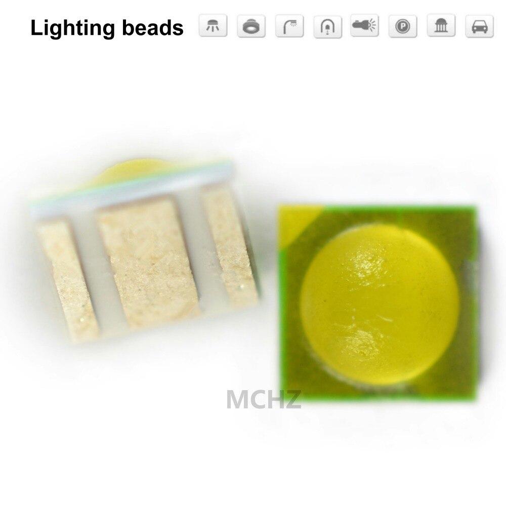 500pcs TIAN DIAN Flip chip 3535 power Ball head lens 3 W SMD LED diodo 3