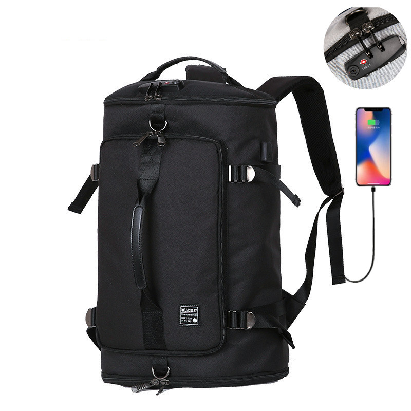 40L Large Capacity 15.6 Laptop bag Men Backpack Travel Backpack Bags For Women Teenagers NO <font><b>Key</b></font> <font><b>TSA</b></font> Anti Theft Men Backpacks image