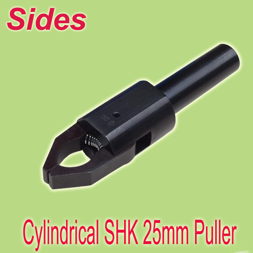 Free Shiping 25mm 1'' Cylindrical Shank Range 3~45mm CNC  Bar-Puller Out Production Auto Link Easiest Setting Up for Lathe free shiping msdnn 25 25 150 shk 1 45 degree lathe machine tool holder for snmg