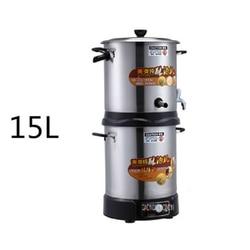 MA-C3-159 220V/50hz Household small automatic liquor wine 15L wine steamer distiller pure dew distillation equipment 2500W