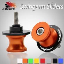 6/8MM swingarm Sliders Motorcycle CNC Swingarm Spools stand screws Slider for KTM Duke 200 390 690 990 2013 2014 2015 2016 2017 цена