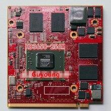 Для acer Aspire 5710G 5920G 6530G 6920G ноутбук ПК для ATI Radeon HD3470 HD 3650 HD3650 DDR3 256MB MXM II графическая видеокарта