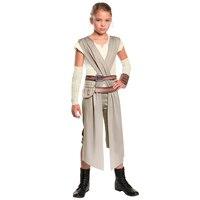 Child Classic Star Wars The Force Awakens Rey Costume