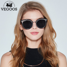 09e41741f53c6 VEGOOS Polarizados das Mulheres Óculos De Sol Cateye Superdimensionada Espelhado  Lente Óculos Escuros de Grife para As Mulheres .