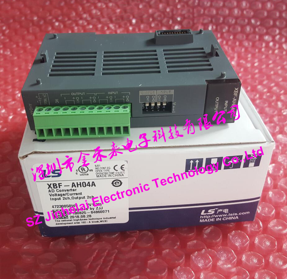 New and original XBF-AH04A LS(LG) PLC AD CONVERTER 100% new and original g6i d22a ls lg plc input module