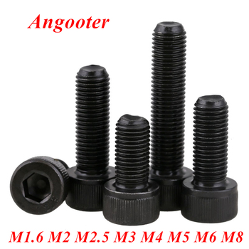 DIN912 Allen socket head black screw 12.9 grade M1.6 M2 M2.5 M3 M4 M5 M6 M8 Hexagon Socket head cap screw hex socket screw image