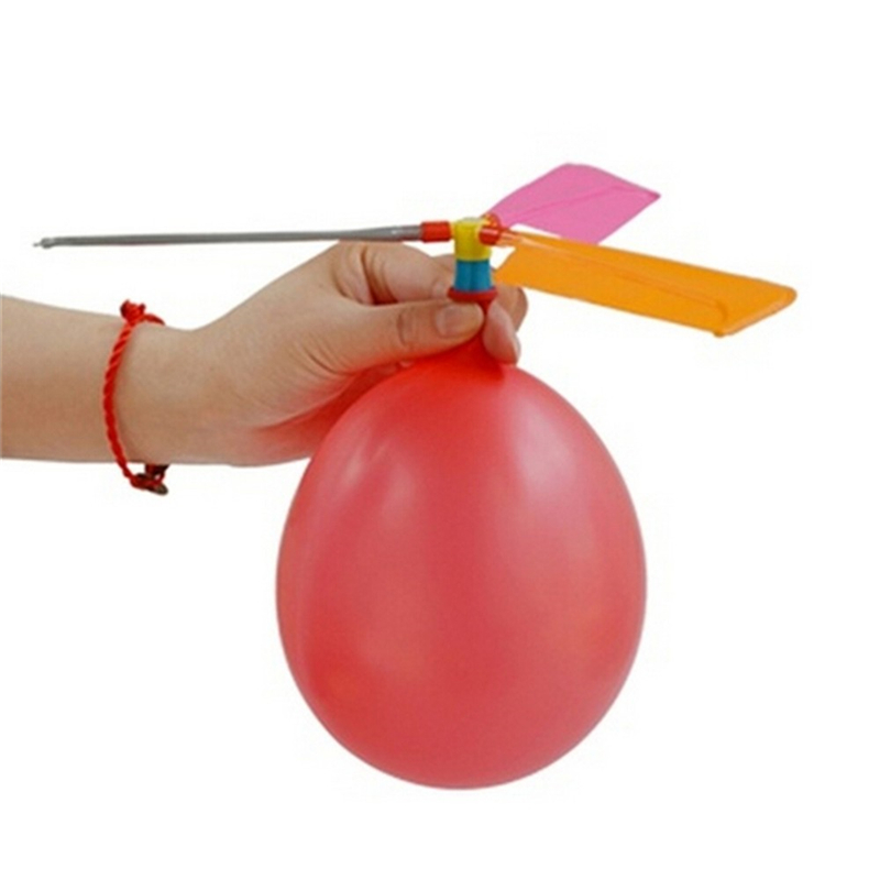 Balloon Helicopter Flying Toy Child Birthday Xmas Party Bag Stocking Filler Gift Wholesaling Retailing Toys For Kids Game Flying