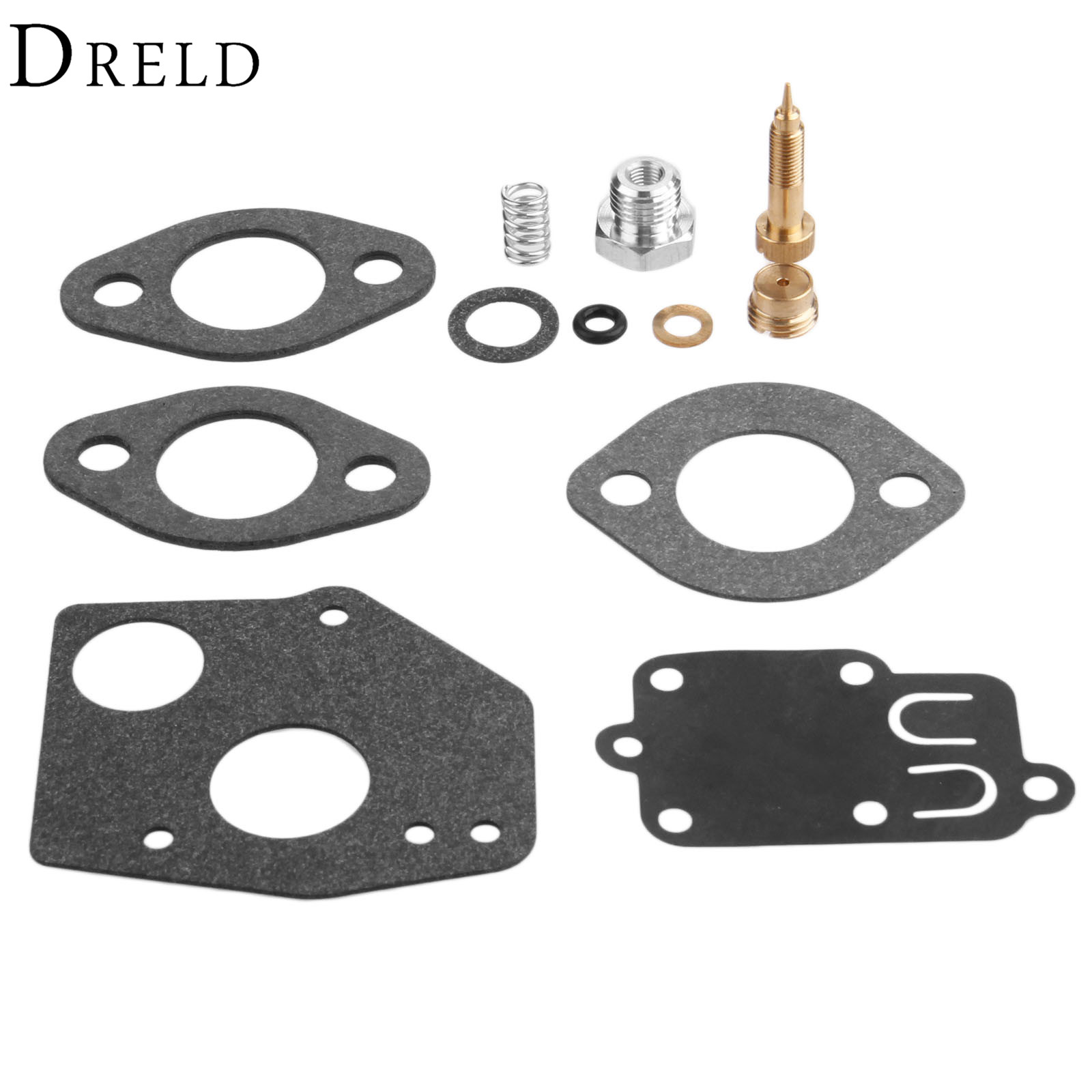 DRELD Carburetor Carb Repair Overhaul Kit for BRIGGS & STRATTON 80200 81200 82200 133200 135200 92200 93200 136200 100200 111200 цены онлайн