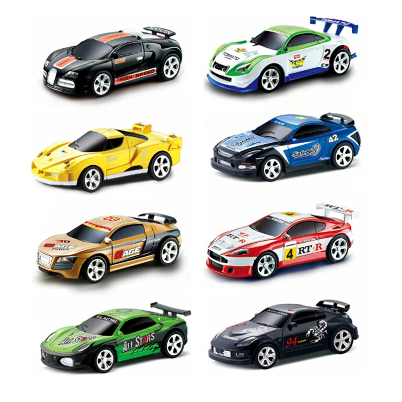 New Mini Coke Can RC Radio Remote Control Micro Racing Car Hobby Vehicle Toy Birthday Gift Good Quality