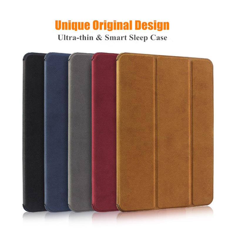 Case for iPad Mini 4 3 2 1 Case PU Leather Magnetic Trifold Stand Auto Sleep/Wake up Smart Cover for iPad mini 2 Protective case ctrinews flip case for ipad air 2 smart stand pu leather case for ipad air 2 tablet protective case wake up sleep cover coque