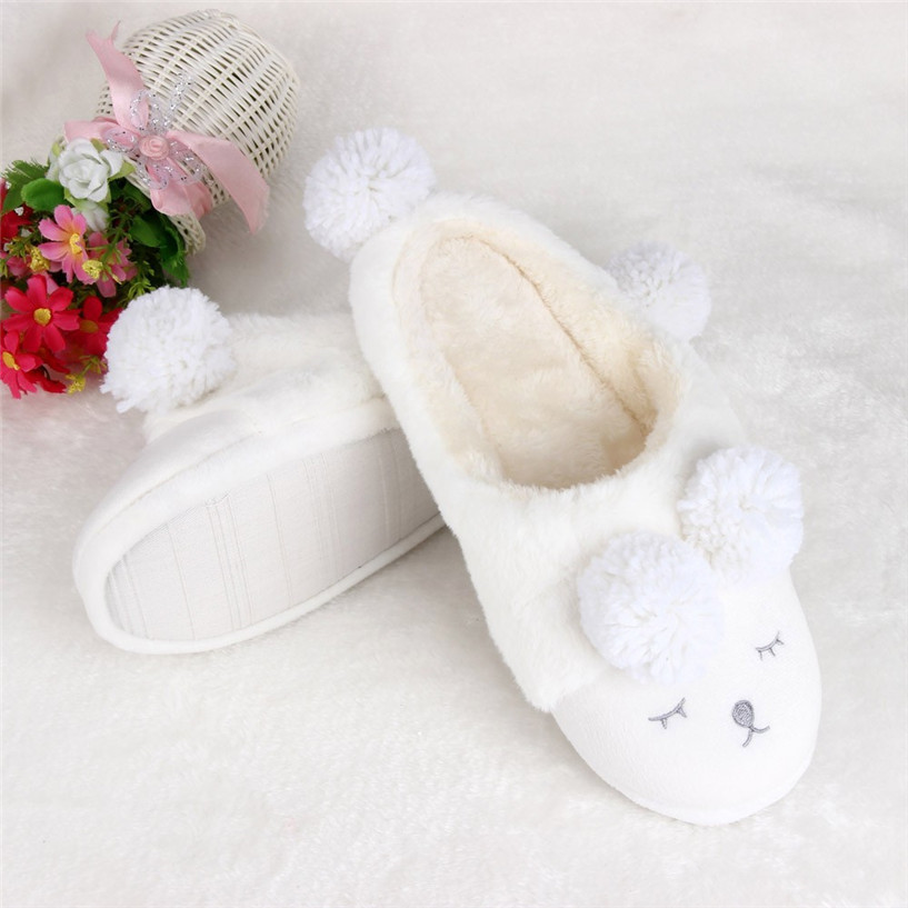 Hot Sale shoes woman Plush Slipper Cartoon Creative Men And Women Slippers Winter House Shoes wholesale