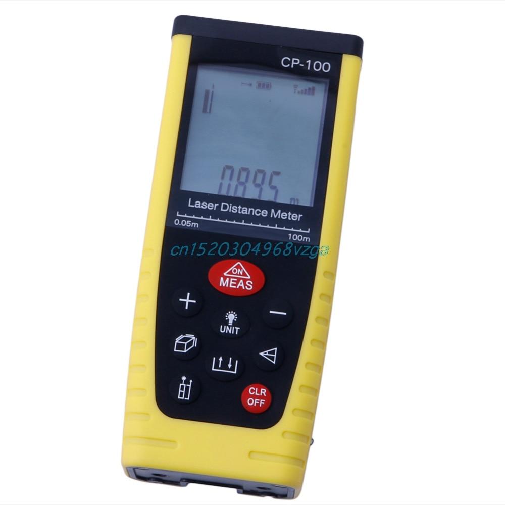 Digital Laser Distance Meter Measure Range Finder Area Diastimeter Better 100M #H028#  цены