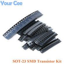 Transistor-Kit MMBT3904 C1815 S9018 SOT-23 SMD for S9014/S9015/S9018/..