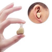 Mini Hearing Aid Sound Amplifier Rechargeable Invisible Hearing Aids For The Elderly Deaf Portable Ear Care Tools CCP075