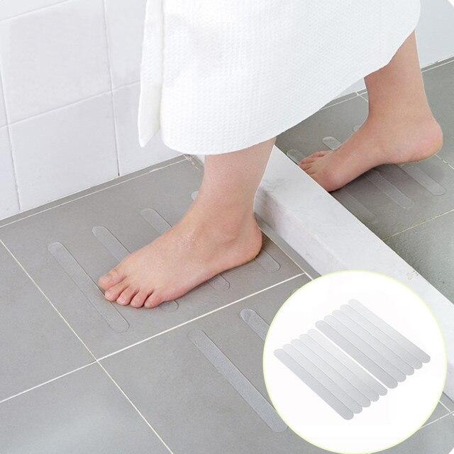 2018 ISHOWTIENDA di Alta Qualità 10 pz Anti Slip Da Bagno Grip Adesivi Antiscivo