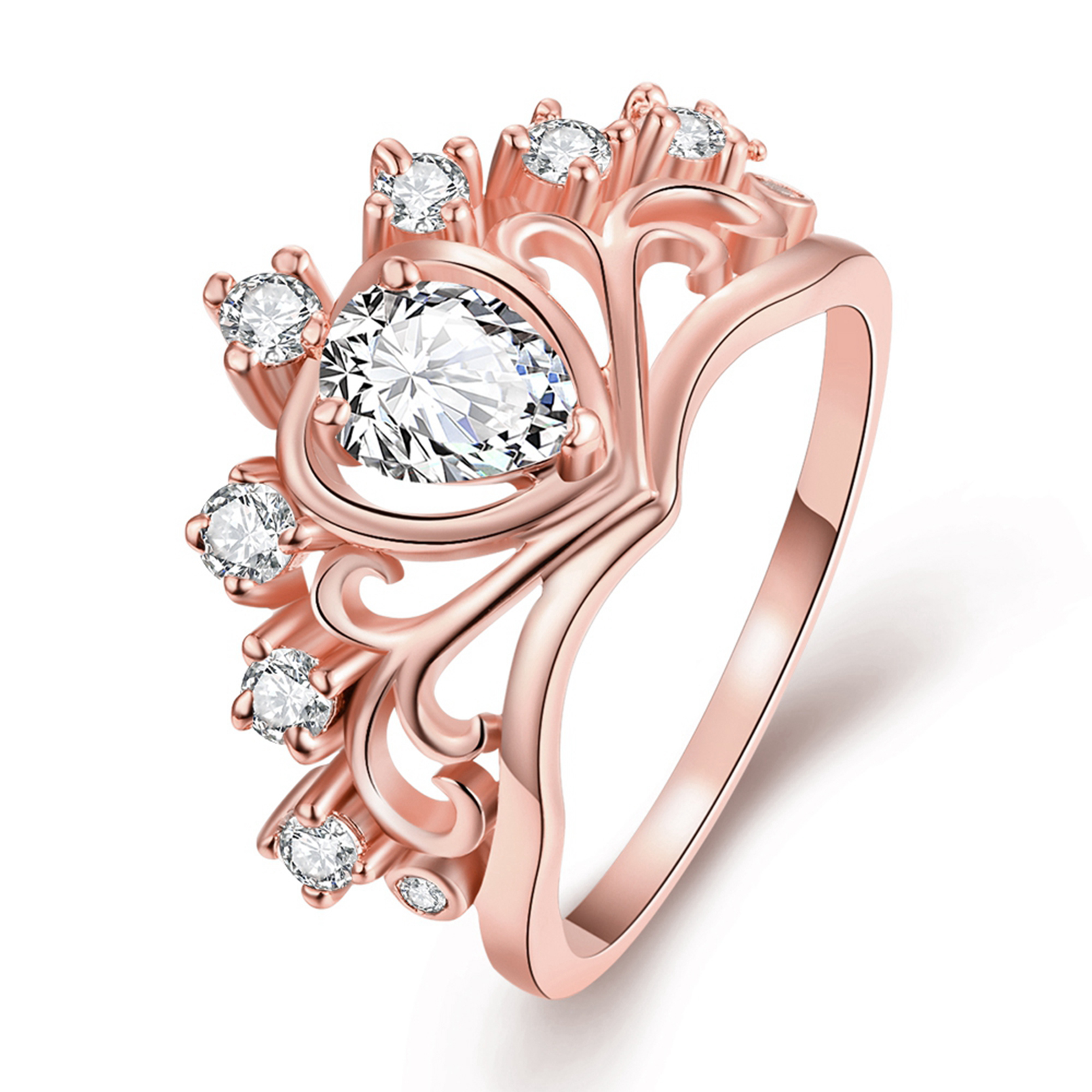 Popular Crown Promise Ring-Buy Cheap Crown Promise Ring lots from ...
