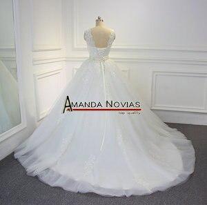 Image 5 - Stunning High Quality Wedding Dress 2019 Amanda Novias 100% Actual Photos