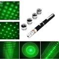 Hot! 6 in 1 Powerful Green Laser Pointer Pen Beam Light 5MW green Laser High Power 532nm