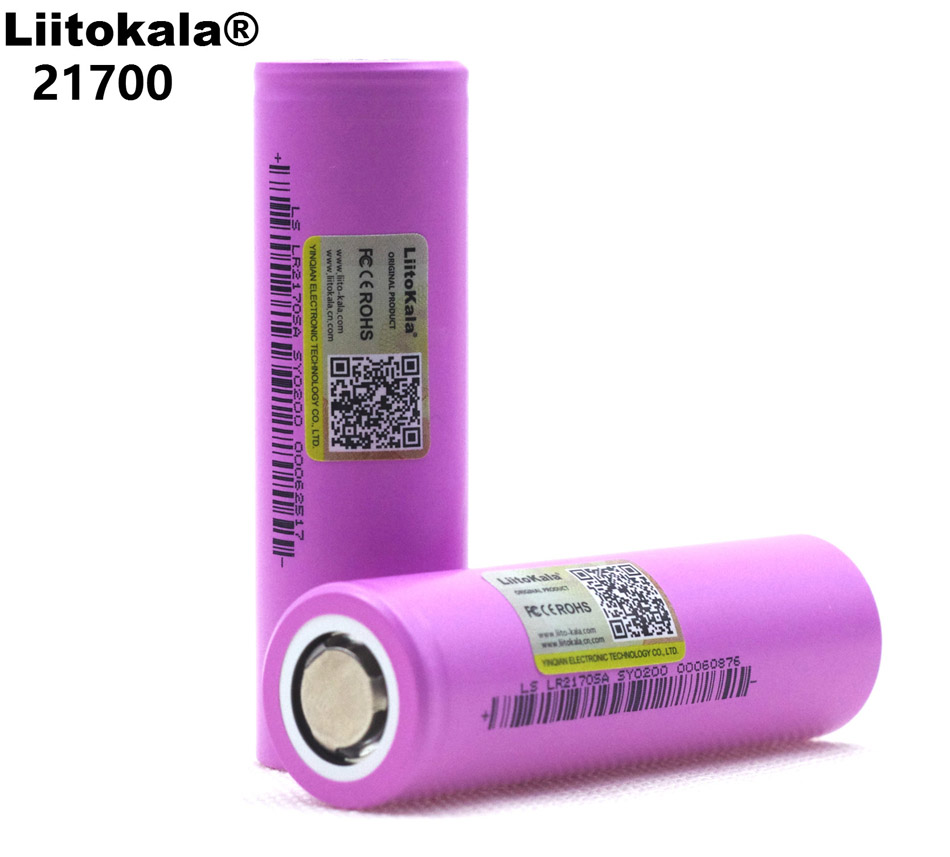 Liitokala 21700 lithium-ion <font><b>battery</b></font> <font><b>4000</b></font> <font><b>mAh</b></font> <font><b>3.7</b></font> <font><b>V</b></font> 15A power supply 5C discharge triple lithium <font><b>battery</b></font> electric car <font><b>battery</b></font> DIY image