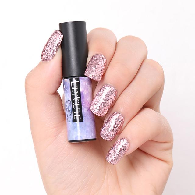 LILYCUTE 5ml Glitter Sequins Gel