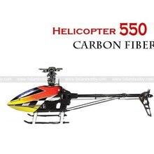 Радиоуправляемая модель 3D АРФ углерода VWINRC 550E 6ch вертолет 6CH flybar комплект похожи trex 550E P2