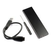 Alüminyum Alaşım USB 3.0 ssd sabit disk Muhafaza Adaptörü Dönüştürücü için 2010 2011 Macbook Air A1369 A1370 MC503 MC506 MC969 MC965