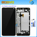High quality Replacement for Microsoft Nokia Lumia 650 lcd display with touch screen digitizer with frame assembly+free tools