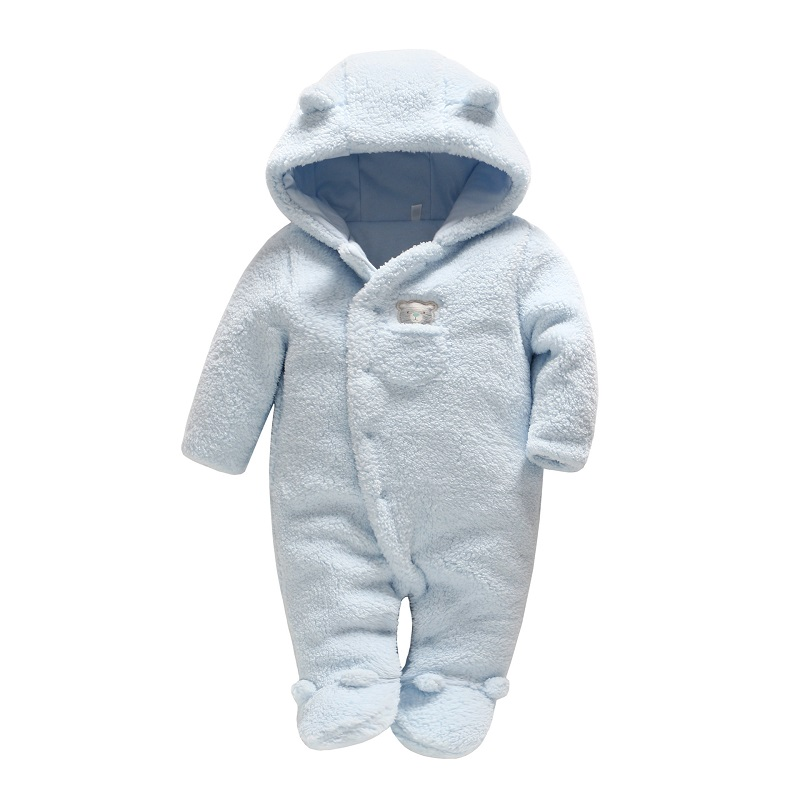 Vlinder Baby clothes Baby girls boys rompers Newborn Cute Padded Clothes Infant Jumpsuit Cotton Snug Long Sleeves Pajamas