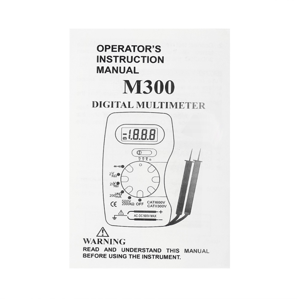 Us 588 Voltage Tester Whdz M300 Pocket Size Digital Multimeter Handheld Dmm Dc Ac Ammeter Voltmeter Ohm Meter With Diode Lcd Display In Multimeters Circuit Checker From Tools On
