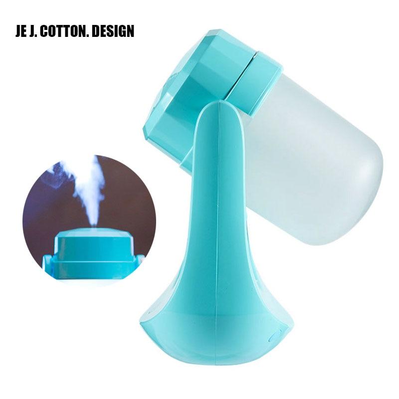 DC5V вращающийся USB увлажнитель воздуха светодиодные фонари для дома аромат эфирного масла диффузор тумана, Fogger диффузор ультразвуковой тума...